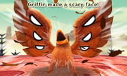 Griffin scary face