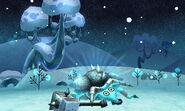 Blue Minotaur defeated