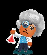 Miitopia Job - Scientist