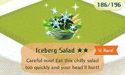 Iceberg salad vrare
