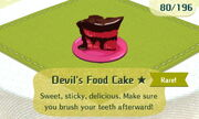 Devils Food Cake 1star