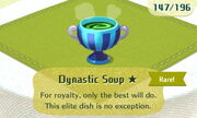 Dynastic Soup 1star