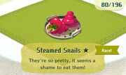 Steamed Snails 1star