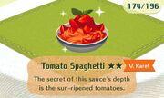 Tomato spaghetti very rare