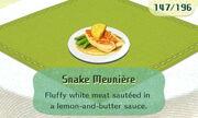 Snake Meuniere