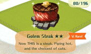 Golem Steak 2star