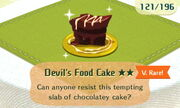 Devils Food Cake 2star