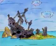 Mike, Lu and Og - Sunken Pirate Ship