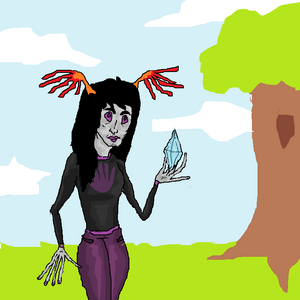 Handia in nature with crystals by crystals1986-d63xmr4