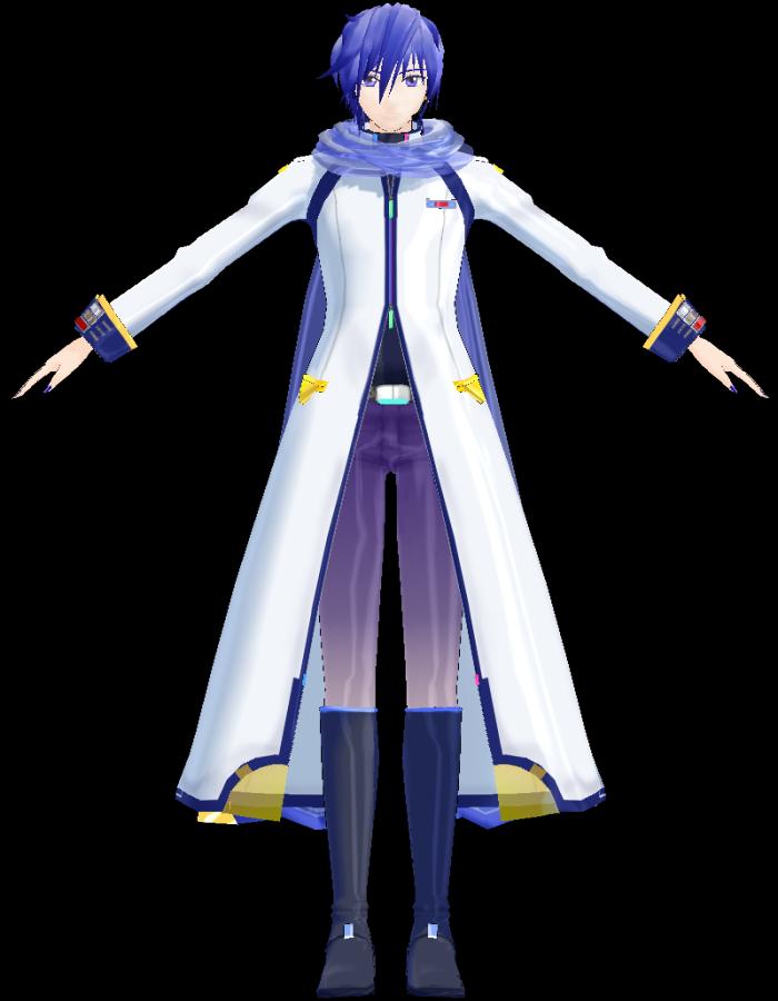KAITO V3 (hzeo) | MikuMikuDance Wiki | FANDOM powered by Wikia