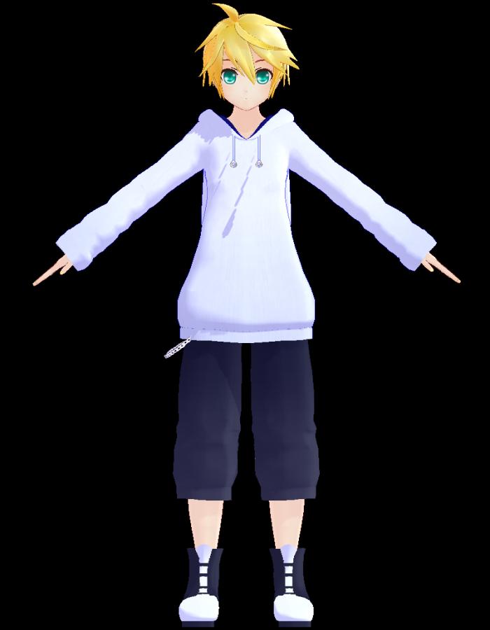 Serien Len len kagamine hoodie jiyurun mikumikudance wiki fandom powered