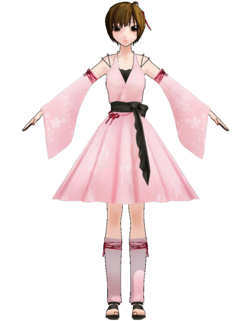 Meiko wintry wind costume by Uri