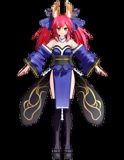 Caster (Tamamo no Mae) by Omiya