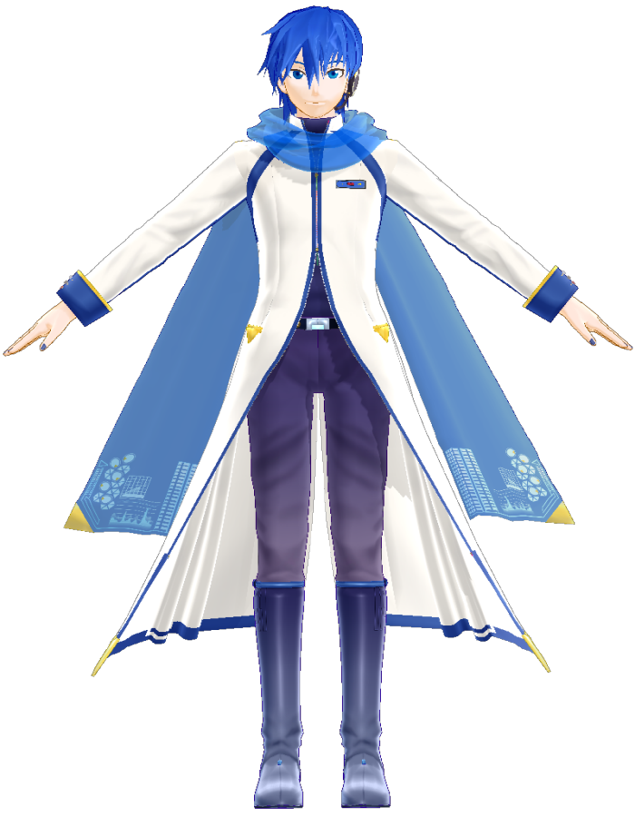 KAITO V3 (YM)   MikuMikuDance Wiki   FANDOM powered by Wikia Vocaloid Kaito Wiki
