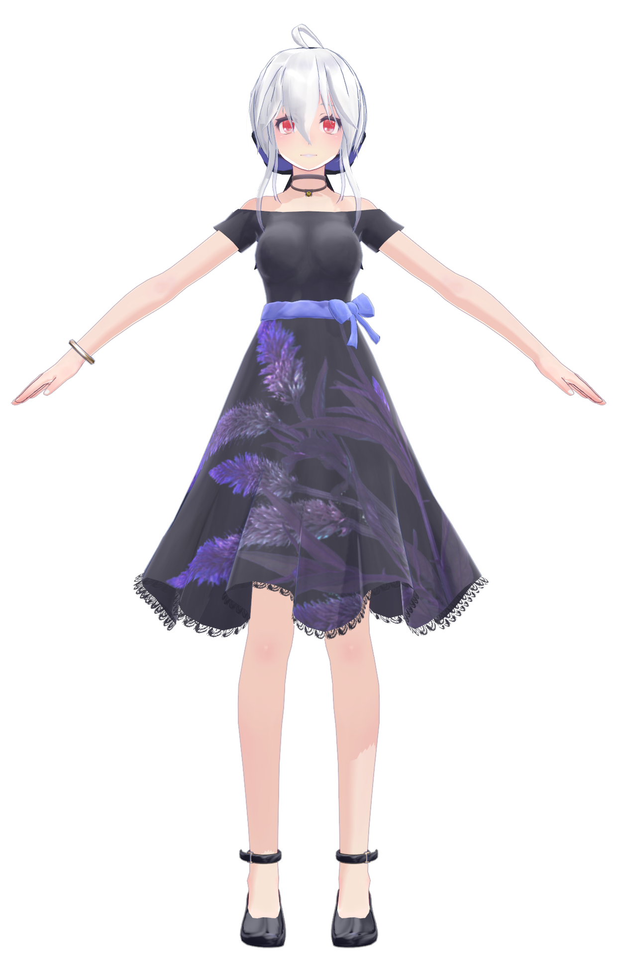 Haku Yowane Append One piece dress Tda Edit (Coa