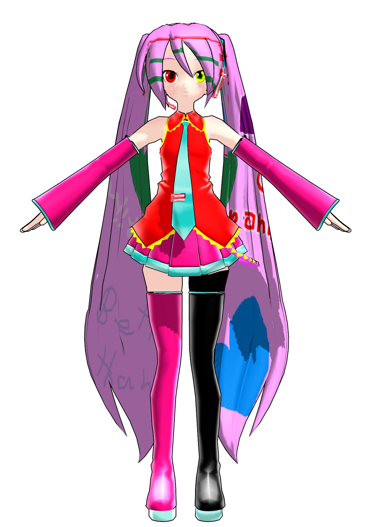 Miku Hatsune V3 (Masisi)   MikuMikuDance Wiki   Fandom