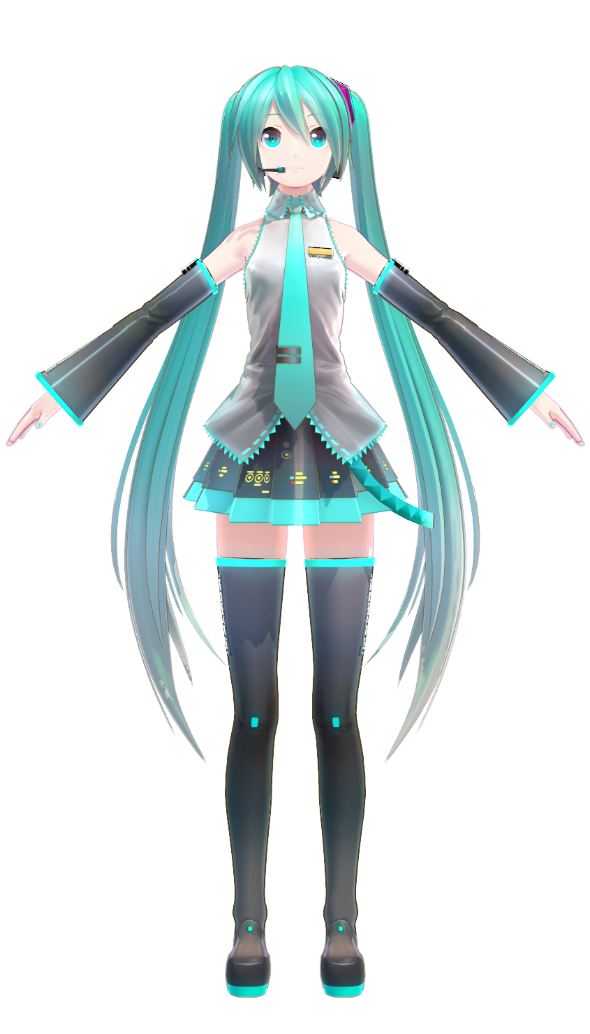 Miku Hatsune (YYB) | MikuMikuDance Wiki | FANDOM powered by