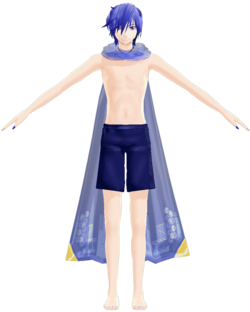 Kaito V3 swimwear by hzeo