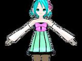 Miku Hatsune ColorfulxMelody Lat-type (Jjinomu)