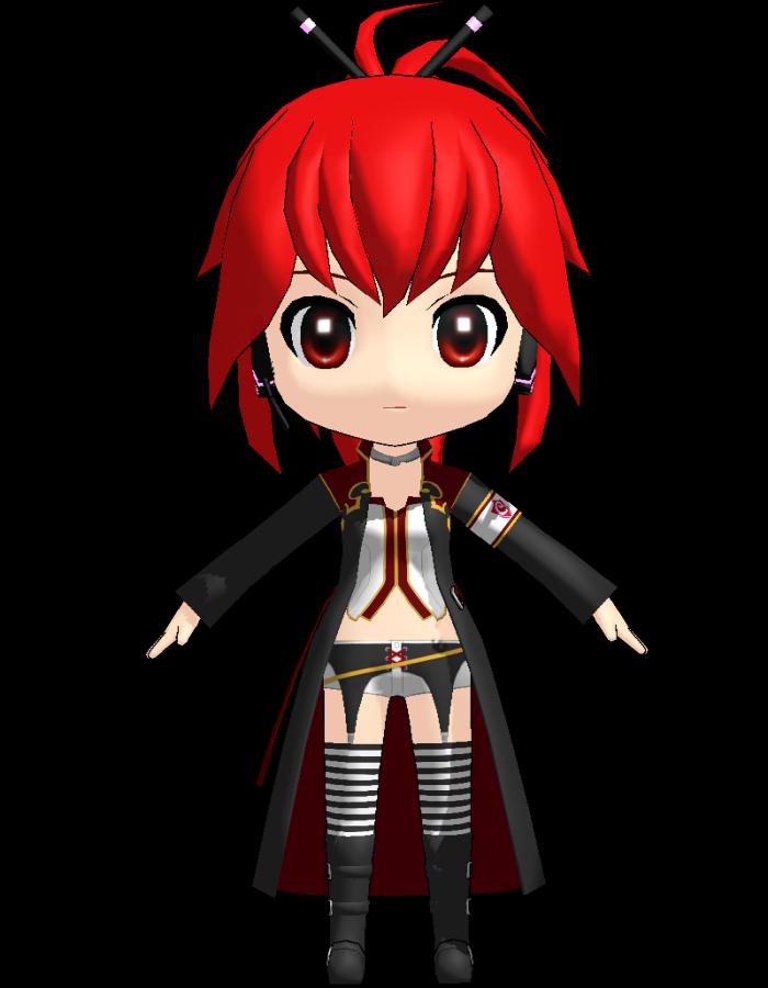 Miku Hatsune 3rd (Anomaro)   MikuMikuDance Wiki   Fandom