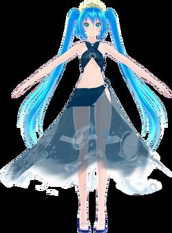 Tda Aqua Princess Miku Hatsune MeerkatQueen
