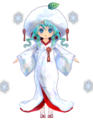 Miku Low Poly Snow 2013 by Ginjishi.png