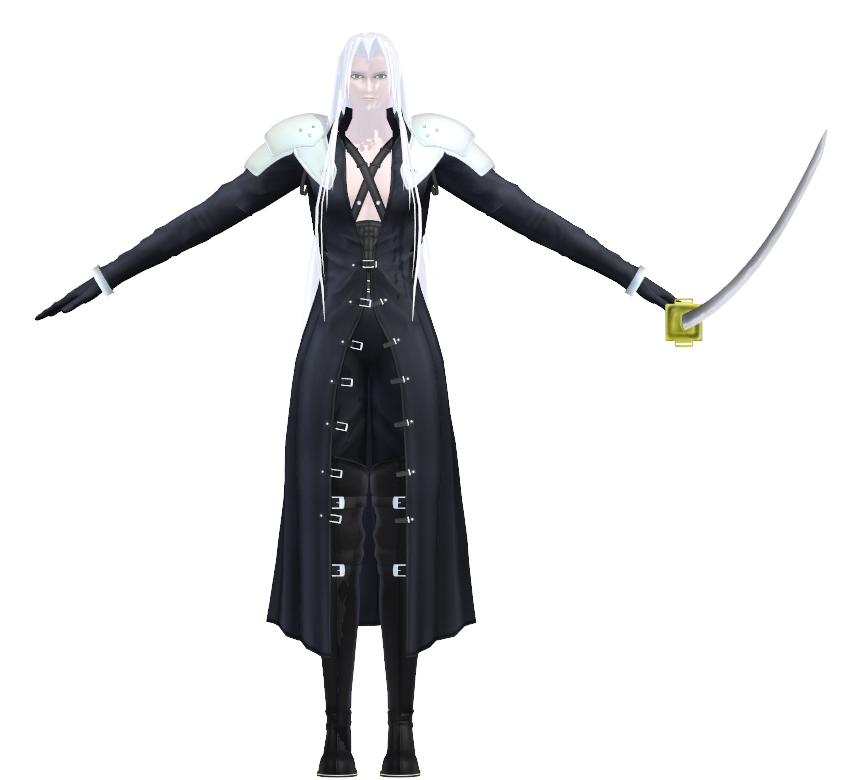 Sephiroth (Ranamoka) | MikuMikuDance Wiki | FANDOM powered by Wikia