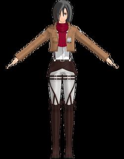 Mikasa by Nerudora