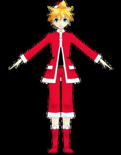 Len santa costume by Uri