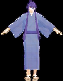Gakupo yukata by YM