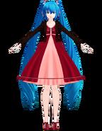 Miku V3 dress by Uri