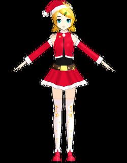 Rin santa costume by Uri
