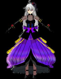 Haku gothic purple by Nigo