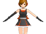 Meiko Sakine Black Dress NS (Redstone)