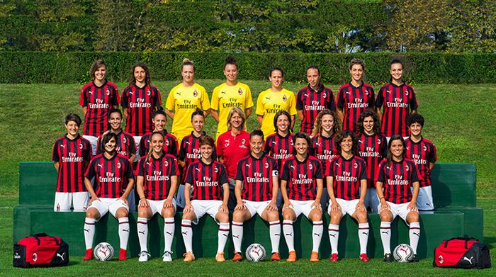 Prima Squadra Femminile Rosa 2018-19