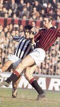 Luigi Maldera Milan-Juventus Serie A 1970-71