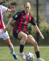Natasha Dowie 11-08-2020 Ajax-Milan