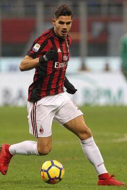 André Silva Milan 2017-18