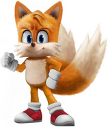 SonicMovie Tails Mighty Pose