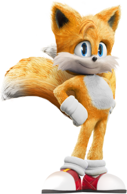 SonicMovie Tails Stand Pose
