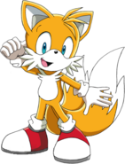 Sonic x tails renders 2D