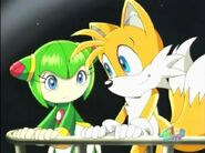 Sonic X Cosmo and Tails Are Very Good to Each Other