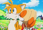 Sonic X Cream Kiss With Tails