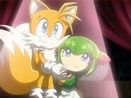 Sonic X Tails and Cosmo
