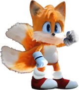 SonicMovie Tails the Idle Pose