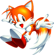 A picture of Tails from the Sonic website