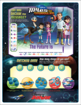 Miles From Tomorrowland - Miles Matching Game