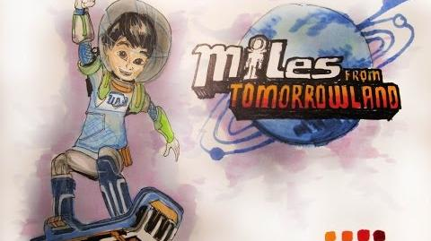 Cartoon Series Disney Jr's Miles from Tomorrowland Time-Lapse Drawing