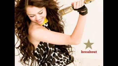 Miley Cyrus - Breakout (audio)