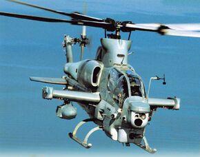 AH-1Z Viper HX-21 in flight 2005